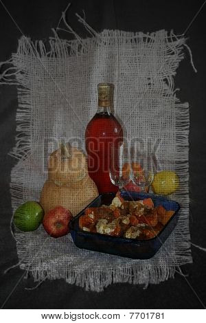 Stock Illustration Of Retro Still Life