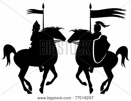 Knight Silhouette
