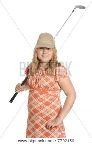 Amateur Child Golf