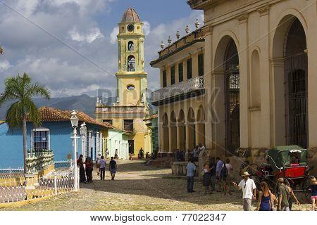 Daily Life In Trinidad, Cuba.