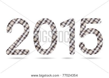 2015 Numeric From Checkerboard Pattern Cloth Texture