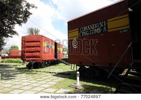 The armored train, Santa Clara, Cuba