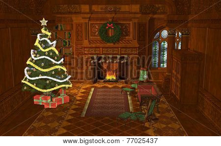 3D Illustration Christmas