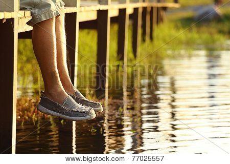 Legs Dangling