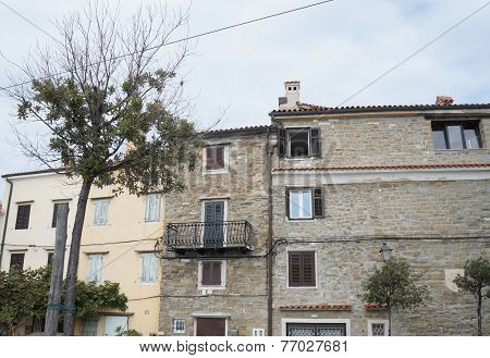 House in Piran, SLovenia