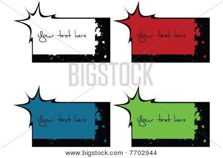 Etiquetas tinta Spoted Resumen
