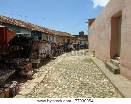 Trinidad, Cuba. Daily market