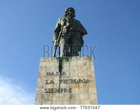 Che Guevara statue in Cuba