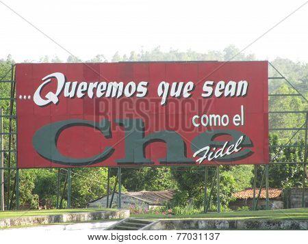 Cuba's Politic Propaganda