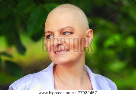 Breast Cancer Survivor With Positive Attitude