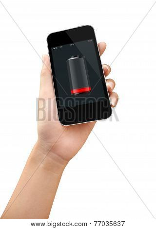 Smart Phone Low Battery