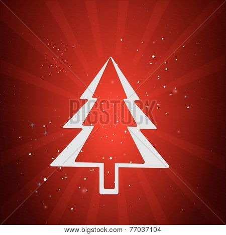 Merry Christmas Holidays Red
