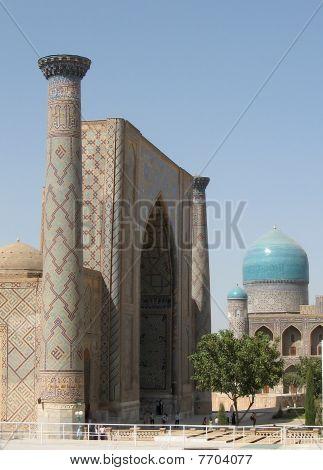 Samarkand Registan Ulugh-beg Madrasah