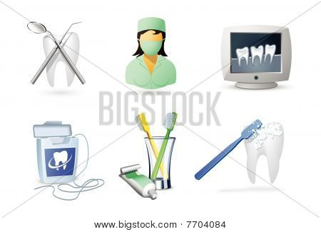 Medical Icons - Dentistry
