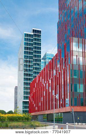 Modern Office Building Netherlands