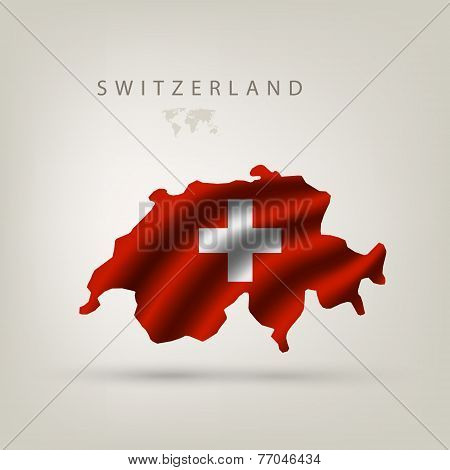 Flag of Switzerland as a country