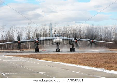 Bomber Tu-95