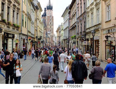 Krakow, Grodzka Street