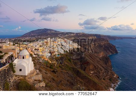 Thira, Santorini, Greece.