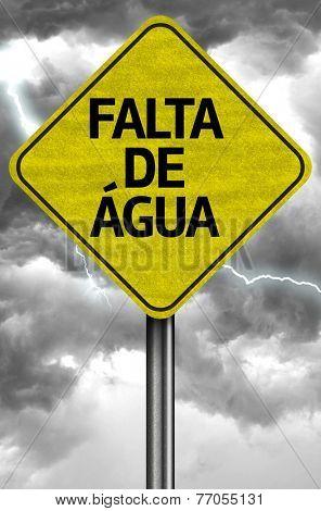 Crisis of Water (Portuguese: Falta da Água)