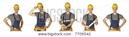 Isolated Handyman Collection