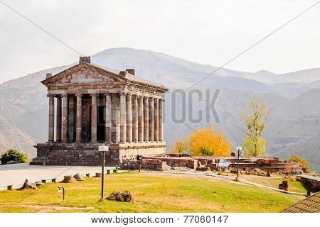 Garni Temple In Armenia