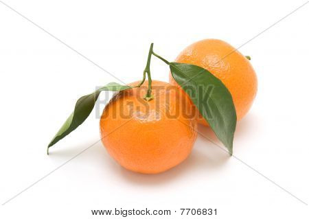 Two clementines