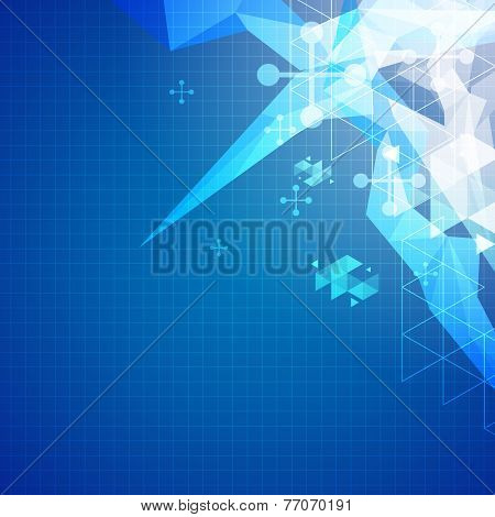 Abstract Science Background Illustration