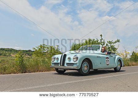 Bristol 400 Farina (1949) In Mille Miglia 2014