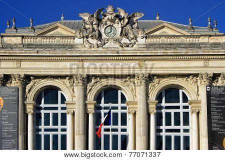 Place De La Comedie - Theater Square Of Montpellier
