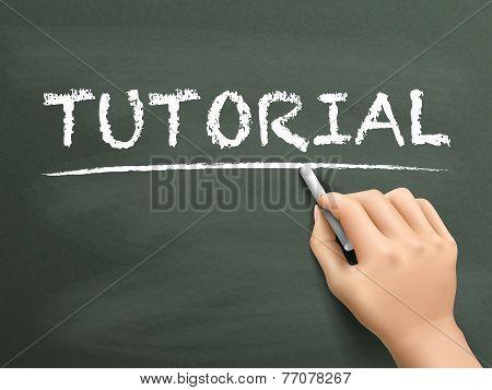 Tutorial Word Written By Hand