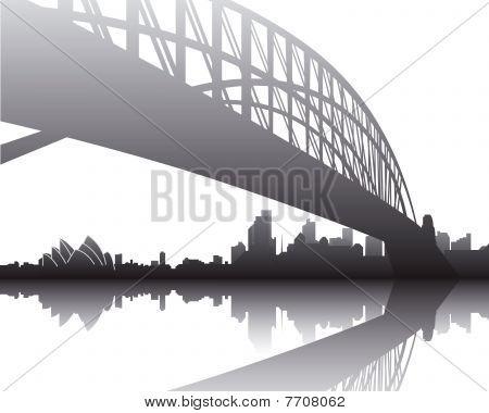 悉尼的天际线 库存矢量图和库存照片 | bigstock