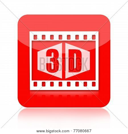 3d video icon