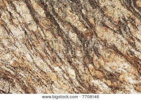 Striped Grangy Granite Stone Surface