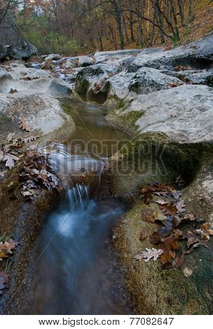 Mountain Stream, Autumn