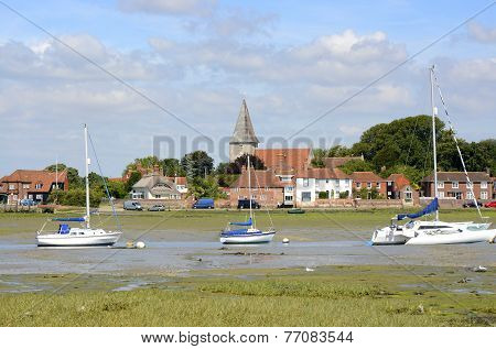 Bosham At Low Tide. Sussex. England