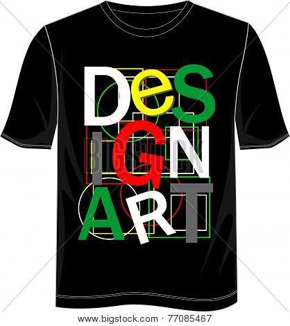 T Shirt Design Art