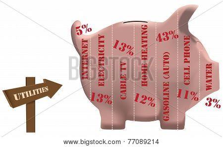 Utilities Piggy Bank