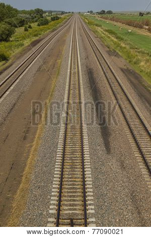 Railroad Triple Track Mainline