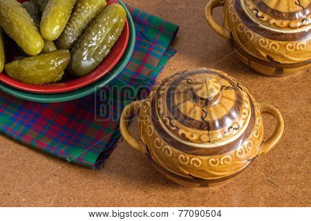 Pickle Plate In Hot Pot