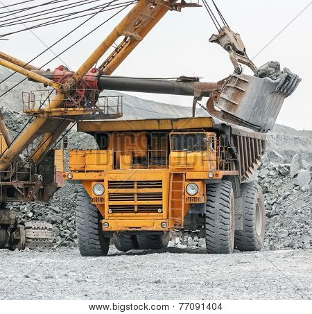 Loading In Belaz
