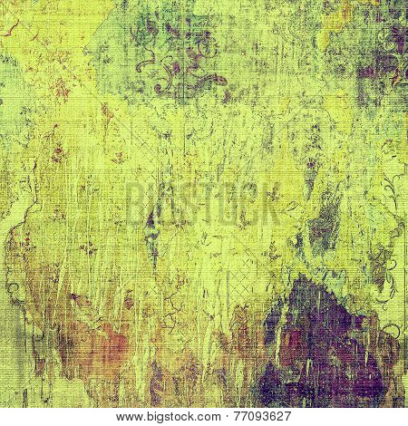 Old background or texture. With different color patterns: purple (violet); green; brown