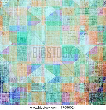 Highly detailed grunge texture or background. With different color patterns: blue; green; purple (violet); orange; brown; yellow
