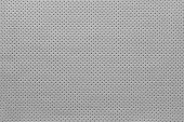 foto of outer  - texture of leather fabric with outer side for pure backgrounds of pale gray color with the punched openings - JPG