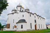 Постер, плакат: The Christian Church in Veliky Novgorod