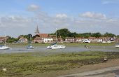 foto of west village  - Village of Bosham in Chichester Harbour - JPG