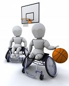 Wheelchair Basket Ball