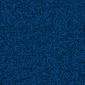 stock photo of pixel  - Abstract digital blue pixels seamless pattern background - JPG
