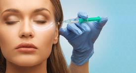 foto of wrinkled face  - medicine - JPG
