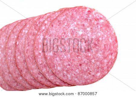 Sliced Smoked Sausage Salami